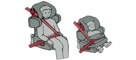 Способы фиксации маленького пассажира