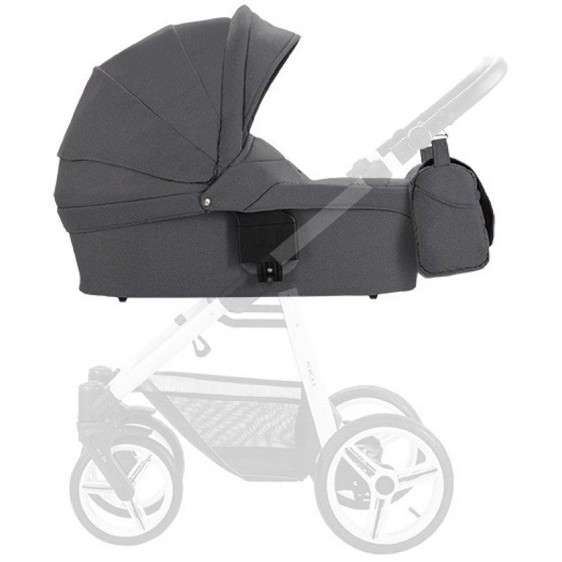 Люлька для коляски Bebetto Nico (230) Темно-сірий