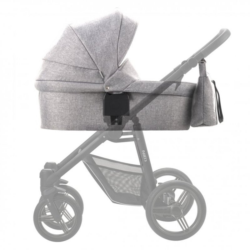 Люлька для коляски Bebetto Nico Shine Сірий